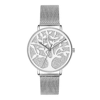 s.Oliver women's watch wristwatch stainless steel SO-3595-MQ