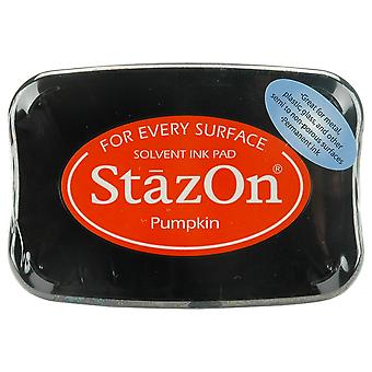 Stazon Solvent Ink Pad-Pumpkin