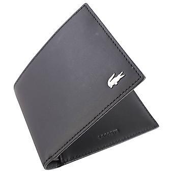 Lacoste Liten Billfold Wallet - Svart