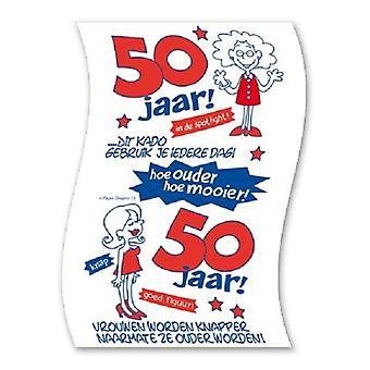 Toilet paper 50jaar woman nr13