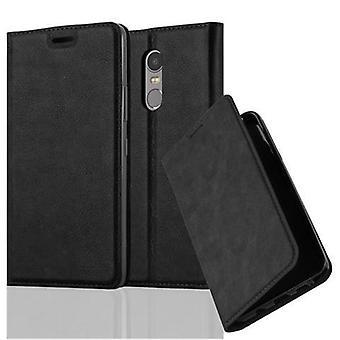 Cadorabo Hülle für Lenovo K6 NOTE Case Cover - Handyhülle mit Magnetverschluss, Standfunktion und Kartenfach – Case Cover Schutzhülle Etui Tasche Book Klapp Style