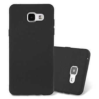 Cadorabo etui til Samsung Galaxy A3 2016 - mobil cover fra TPU silikone måtter frosted design - silikone tilfælde dække ultra slanke blød tilbage cover tilfældet kofanger