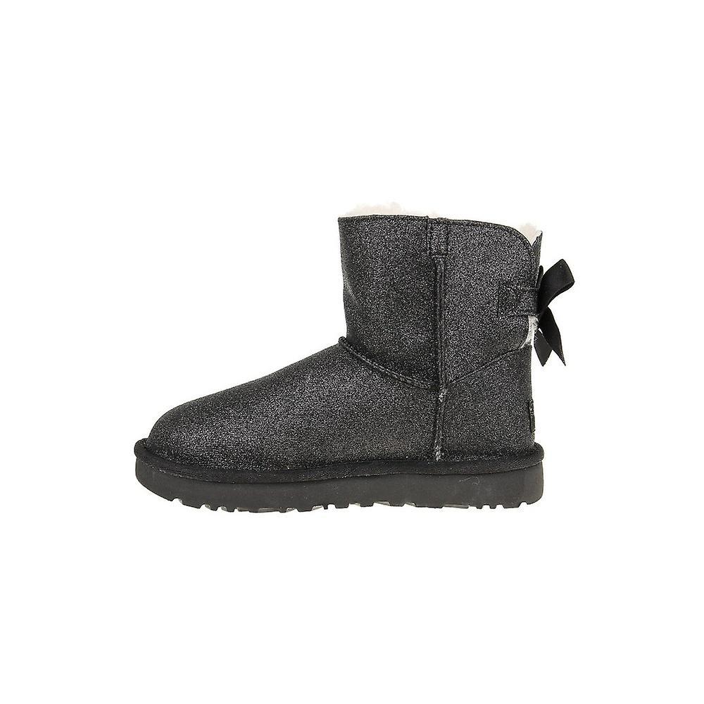 fc5b6b110b0 UGG Mini Bailey Bow Sparkle 1100053BLK universal winter women shoes