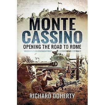 Monte Cassino - ouverture de la route de Rome de Monte Cassino - ouverture le