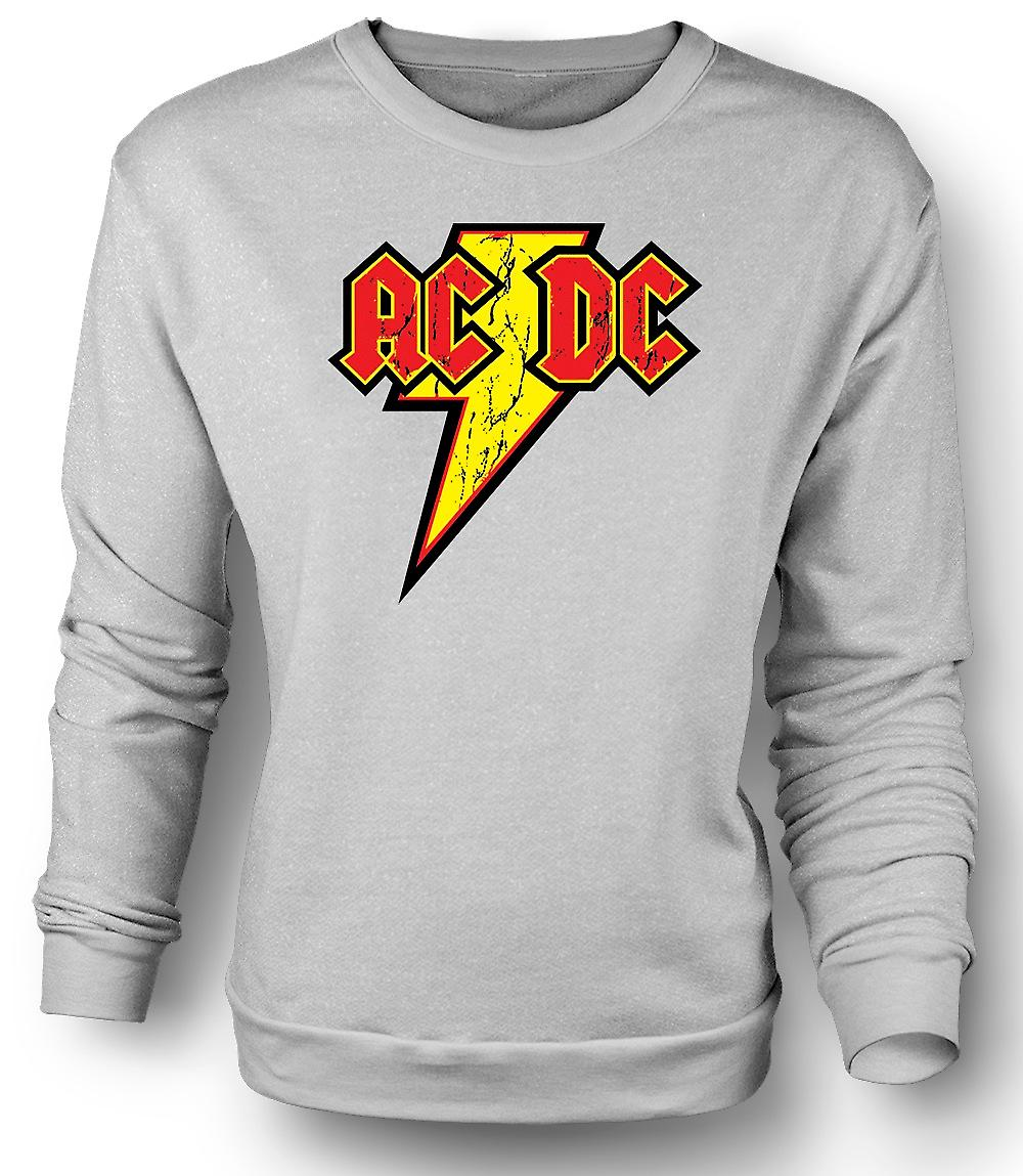Mens Sweatshirt AC/DC - Rock n Roll Band