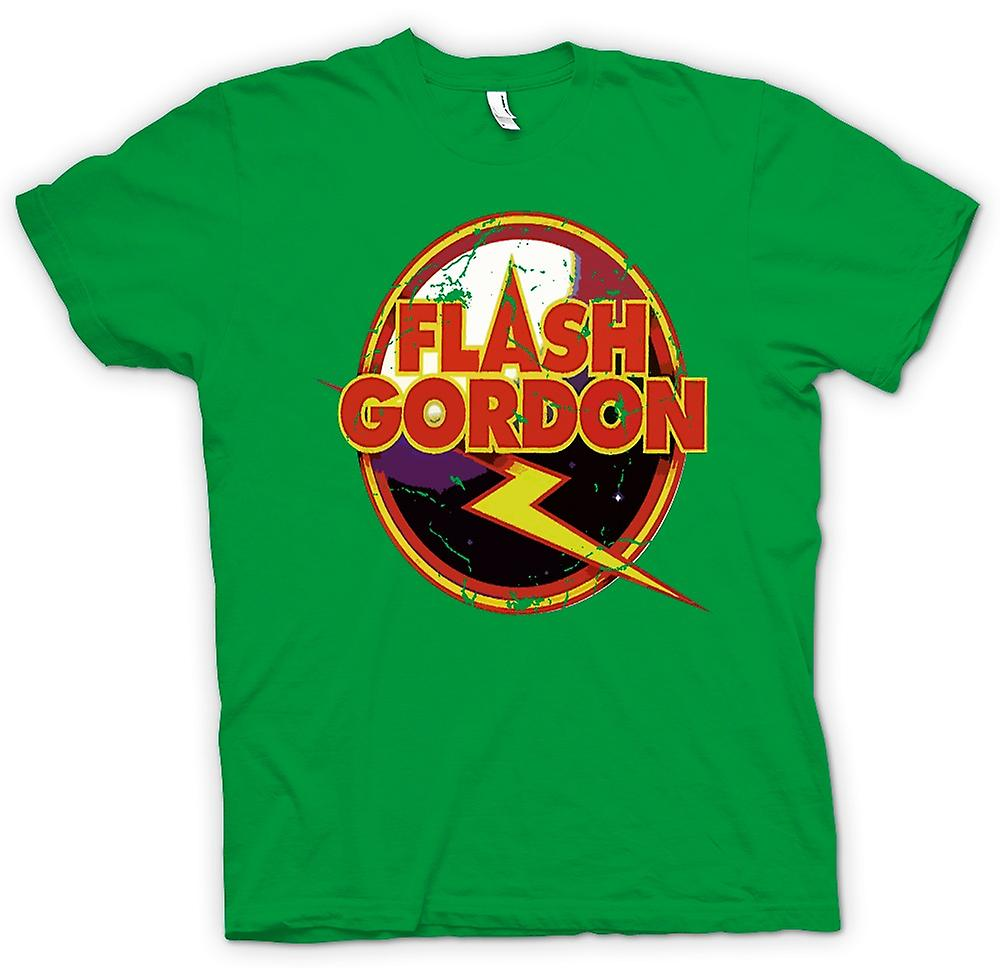 Herren T-Shirt - Flash Gordon Logo - Sci Fi