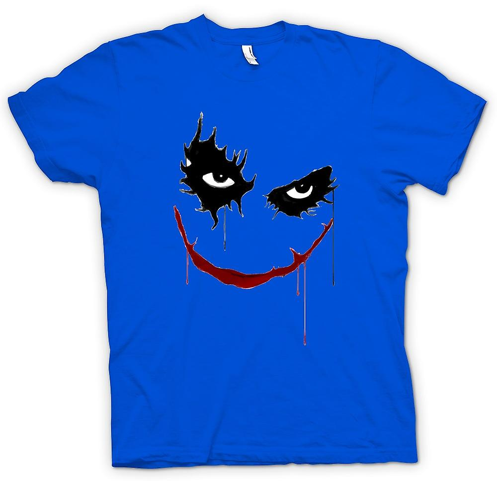 Mens t-skjorte-Joker smilende - Batman - Pop Art