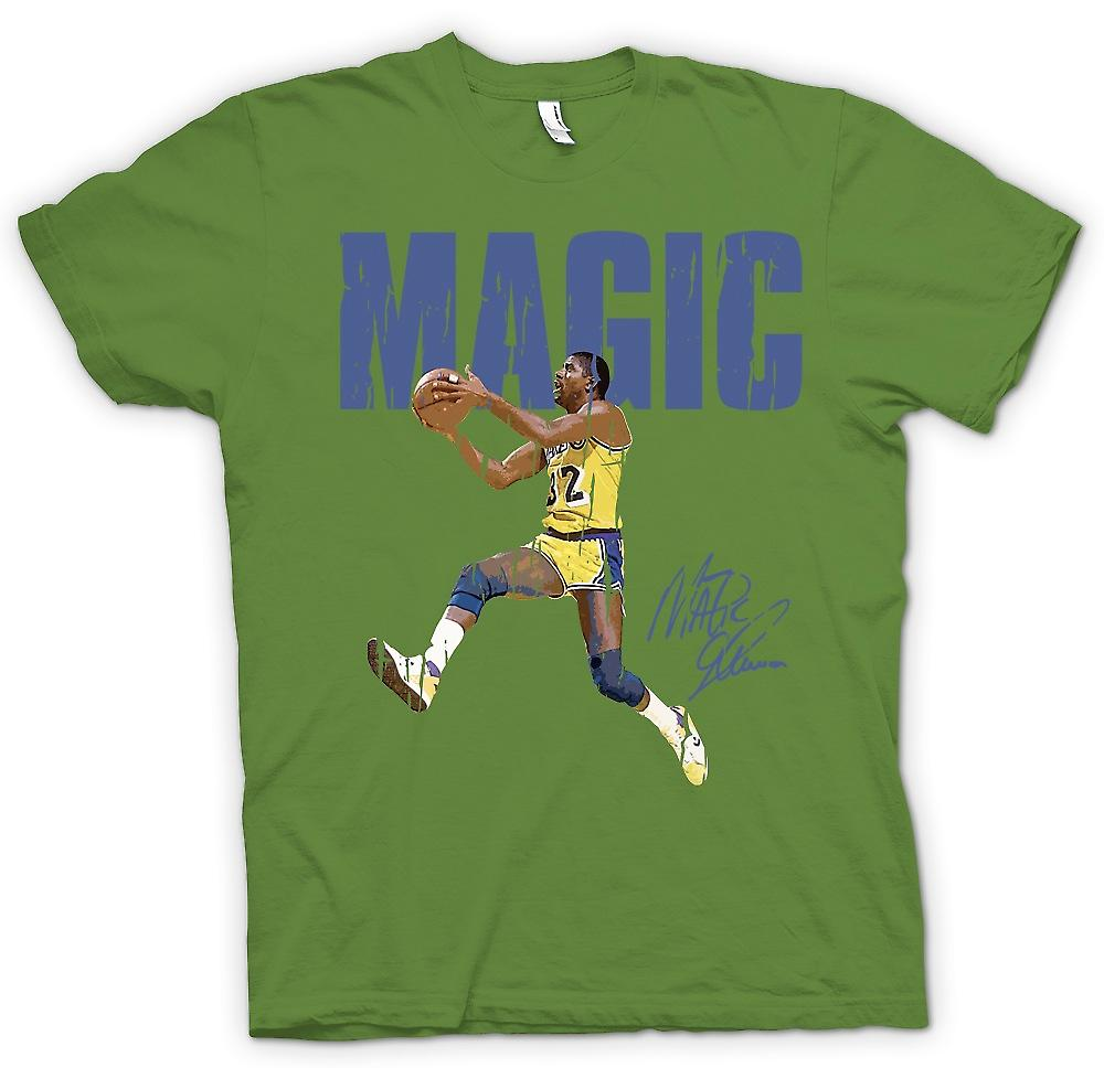 Heren T-shirt - magische Trotteur - Cool basketbal
