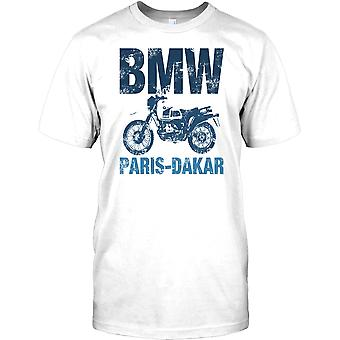 BMW Paris - Dakar - GS1200 inspirerade Mens T Shirt