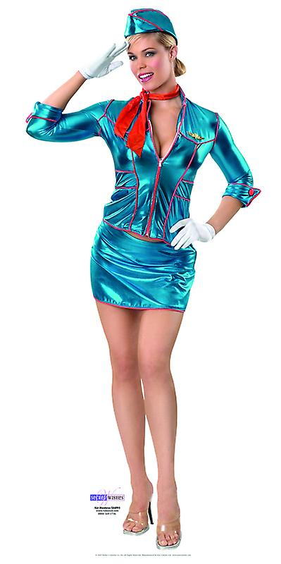 Air Hostess - Lifesize karton gestanst / Standee