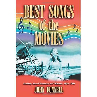 Najlepsze utwory z filmów: nominacje do nagrody Akademii i zwycięzców, 1934-1958