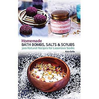 Homemade Bath Bombs, Salts and Scrubs