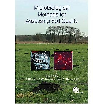 Microbiologische methoden voor de beoordeling van de kwaliteit van de bodem (Cabi)
