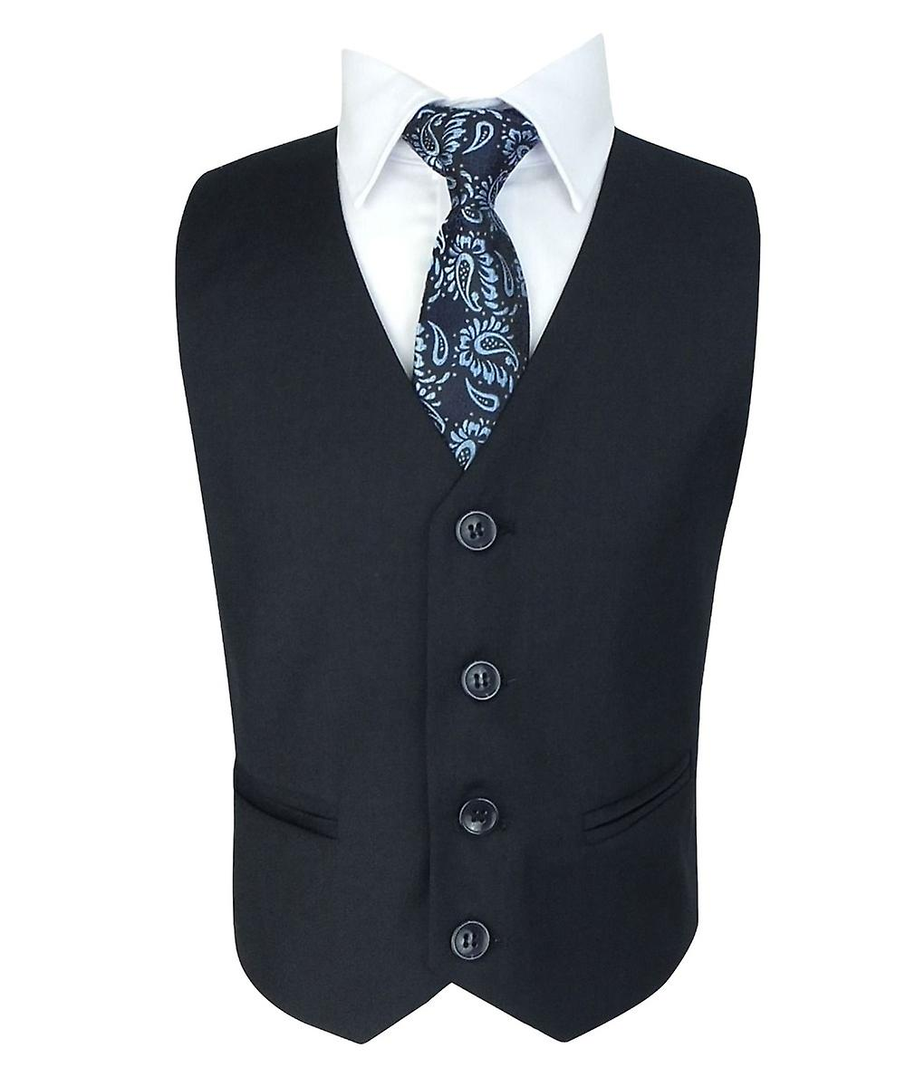 Boys All in One Navy Blue Suit