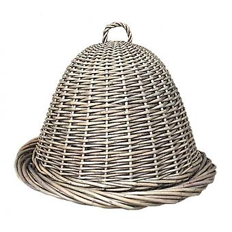Antikke vask Wicker mad Cover og fad