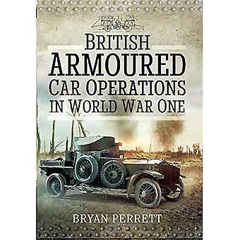 Brittiska bepansrade bil verksamhet under första världskriget