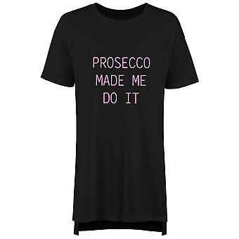 Prosecco Made Me Do It Nightie
