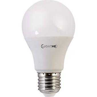 LightMe LED EEC A+ (A++ - E) E27 Arbitrary 10 W = 60 W Warm white (Ø x L) 60 mm x 108 mm 1 pc(s)