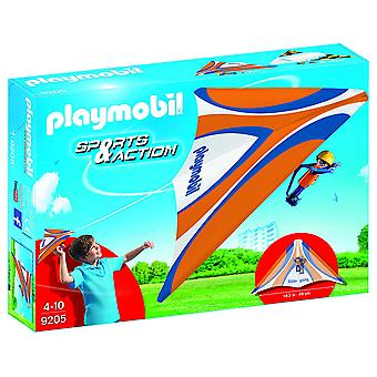 PLAYMOBIL 9205 Action extérieure Orange Hang Glider