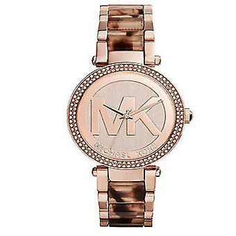 Michael Kors damer Womens Parker Rose Gold Wrist Watch MK6190
