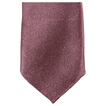 Knightsbridge Neckwear Skinny Polyester Tie - Light Brown