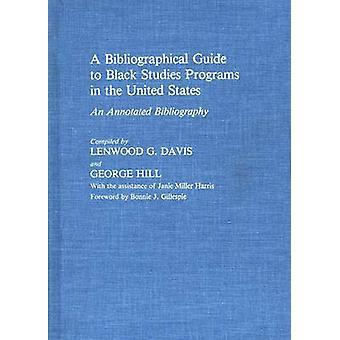 Un Guide bibliographique pour les programmes d'études de noir aux États-Unis une bibliographie annotée par Davis & réserver