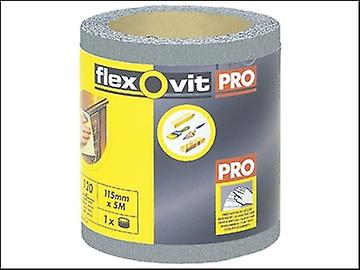 Flexovit High Performance Finishing Sanding Roll 115mm x 5m 120g