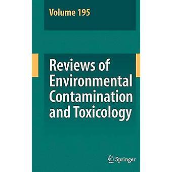 Omdömen om miljöförorening och toxikologi 195 av Whitacre & David M.