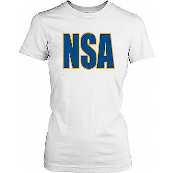 NSA - National Security Agency Ladies T-shirt