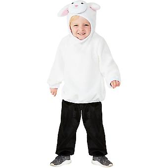 Toddlers Cute Baby Lamb Fancy Dress Costume