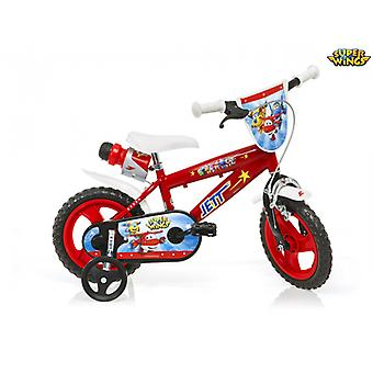 Super Wings 12 Inches Children's Bike - Dino Bikes