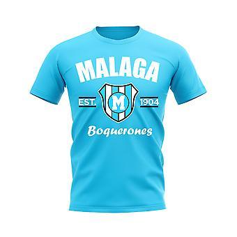 Malaga gegründet Fußball T-Shirt (Sky)