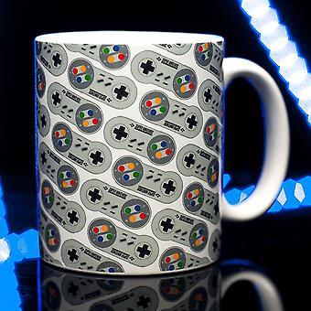 SNES Controller All Over Print Mug