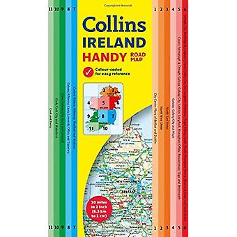 Collins Handy Map Ireland by Collins Maps - 9780008183745 Book