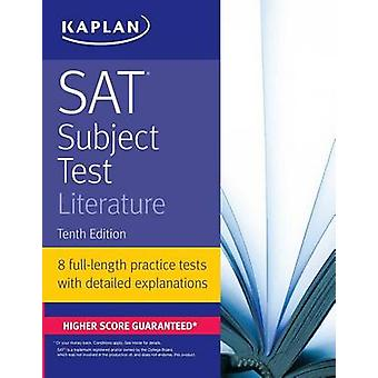 SAT Subject Test Literature by Kaplan Test Prep - 9781506209210 Book