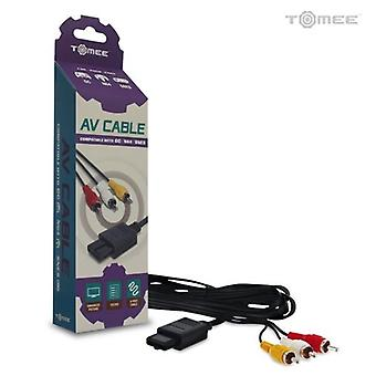 GameCube/ N64/ SNES AV Cable by Tomee