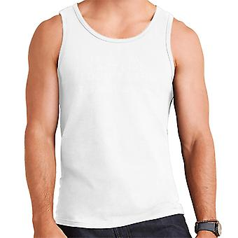 People Say I Act Like I Dont Care Its Not An Act Men's Vest