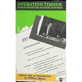 Exploitation du bois: Pages du Dossier Savimbi
