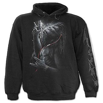 Spiral-direkte gotische DEVOLUTION - Kids Kapuzenjacke Black| Metal| Tribal