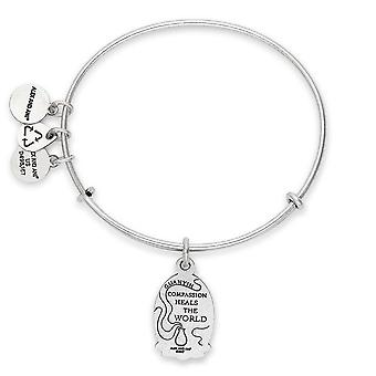 Alex And Ani Guan Yin Charm Bangle - A17EBGYRG