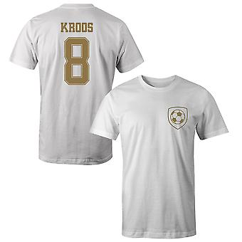 Toni Kroos 8 Real Madrid Style Player T-Shirt