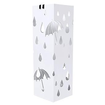 Paraplyhållare-metall-regnmotiv
