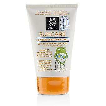 Apivita Suncare Babies Protection SPF 30 avec Olive naturel & Calendula 100ml/3.4 oz