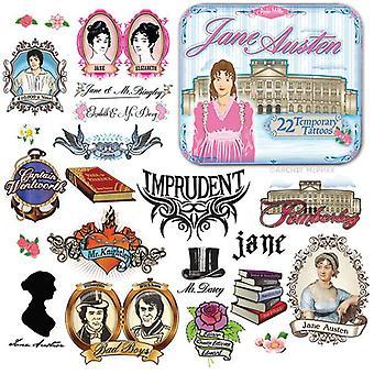 Character Goods - Archie McPhee - Tattoos - Jane Austen 12441