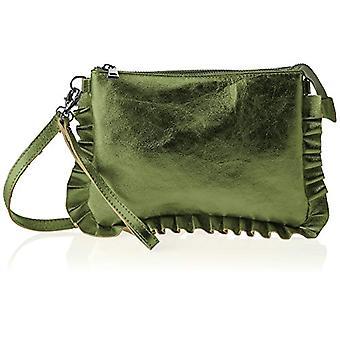 Chicca Bags 1631 Green Women's Shoulder Bag 28x19x2cm (W x H x L)