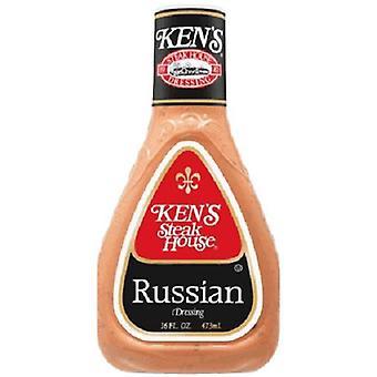 Ken's Steak House Vestido Ruso