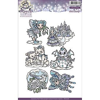 Find It Trading Yvonne Creations Clear Stamp-Magical Winter CCS10006