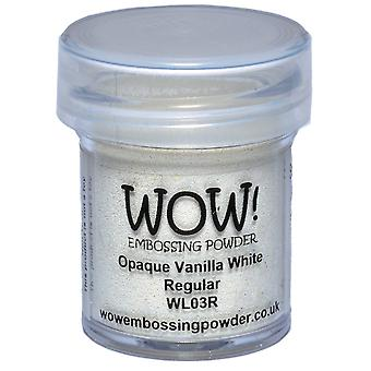Wow! Embossing Powder 15Ml Opaque Vanilla White Wow Wl03r