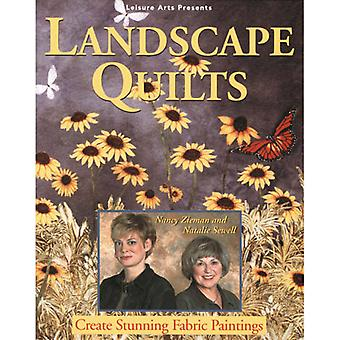 Leisure Arts Landscape Quilts La 8076