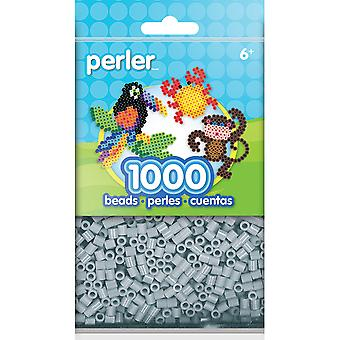Mini Perler Beads 1,000/Pkg-Light Grey PBB80-19-15181